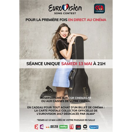 Eurovision 2017 cgr events 2017 au cin ma cgr fontaine for Cgr fontaine le comte