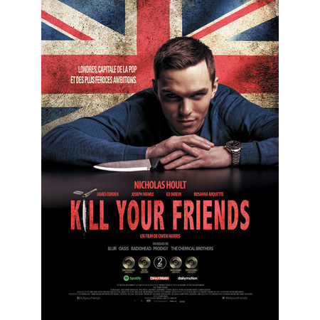 Kill your friends 2015 au cin ma cgr fontaine le comte for Cgr fontaine le comte