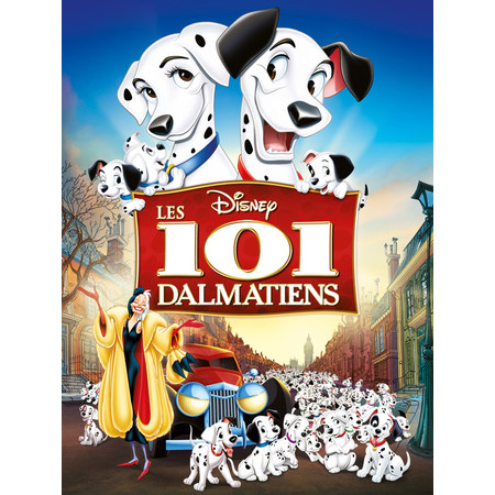 les 101 dalmatiens 1961 au les cin mas de saint etienne le camion rouge. Black Bedroom Furniture Sets. Home Design Ideas