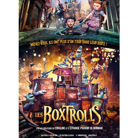 Les boxtrolls 2014 au cin ma chaumont a l 39 affiche - Harry potter et les portes du temps bande annonce ...