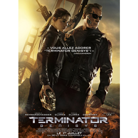 terminator genisys en 3d 2015 au cin ma crepy en valois les toiles. Black Bedroom Furniture Sets. Home Design Ideas