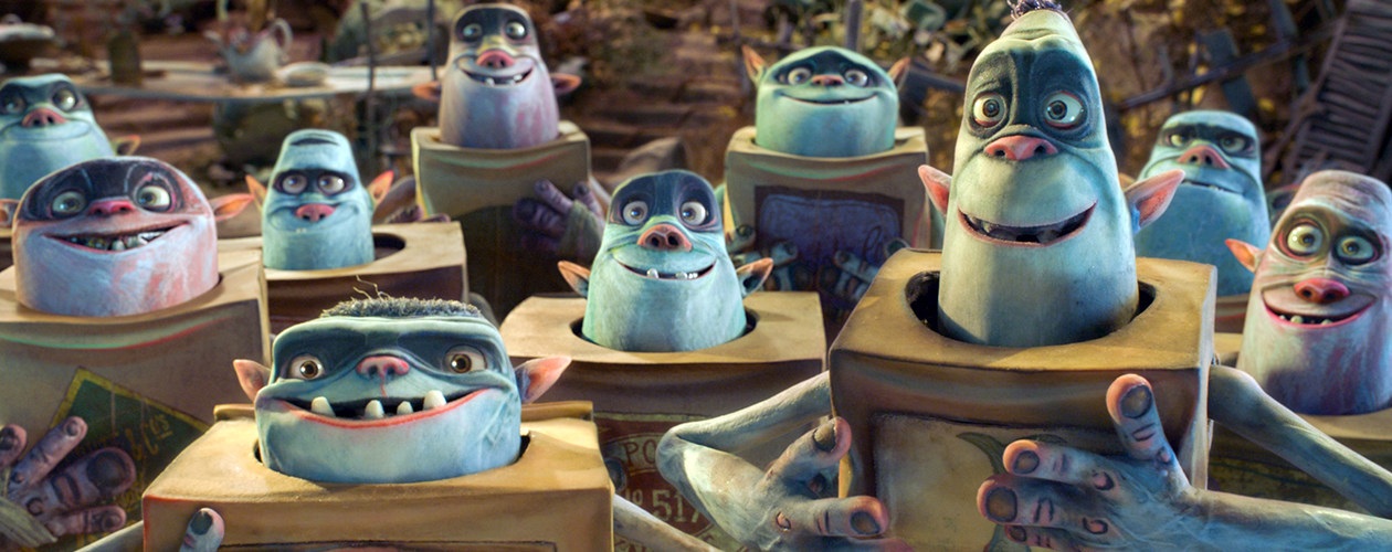 Photo SLIDE pour LES BOXTROLLS EN 3D