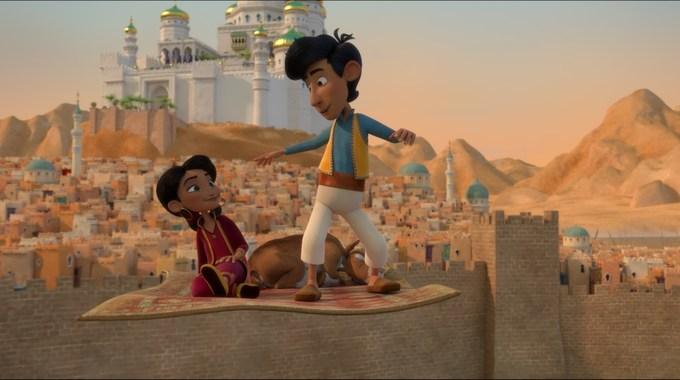 Photo du film Amir et Mina : Les aventures du tapis volant