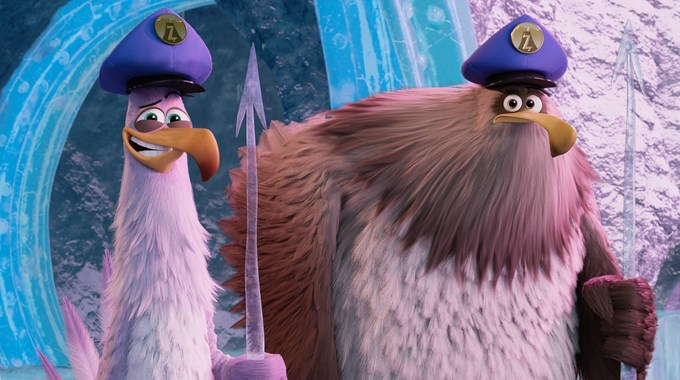 Photo du film Angry Birds : Copains comme cochons