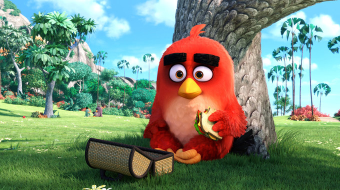 Photo SLIDE pour Angry Birds - Le Film