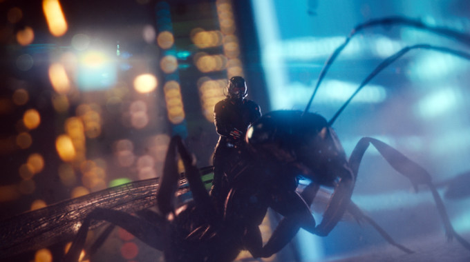 Photo SLIDE pour ANT-MAN EN 3D