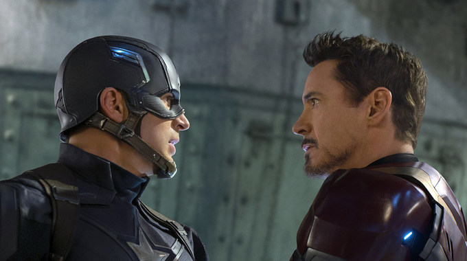 Photo SLIDE pour Captain America: Civil War en 3D