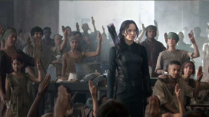 Photo SLIDE pour HUNGER GAMES LA REVOLTE : PARTIE 1