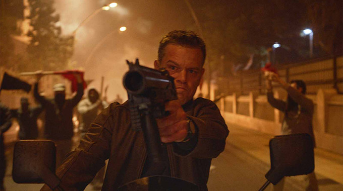 Photo SLIDE pour Jason Bourne