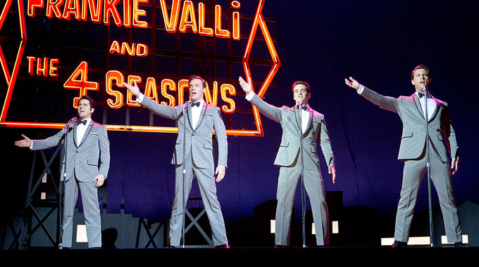 Photo SLIDE pour JERSEY BOYS