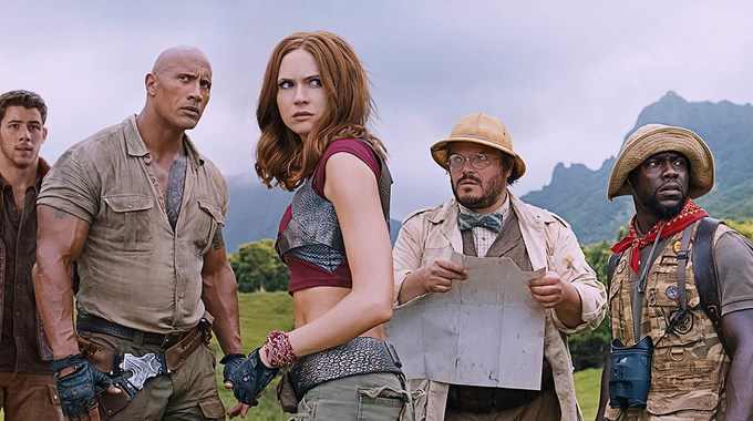 Photo SLIDE pour Jumanji : Bienvenue dans la jungle