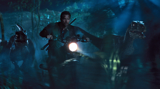 Photo SLIDE pour JURASSIC WORLD EN 3D