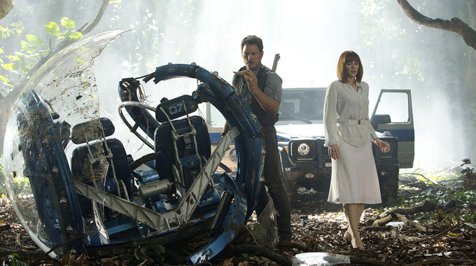 Photo SLIDE pour JURASSIC WORLD