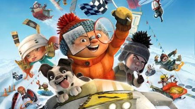 Photo du film La Bataille géante de boules de neige 2, l'incroyable course de luge