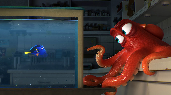 Photo SLIDE pour Le Monde de Dory en 3D