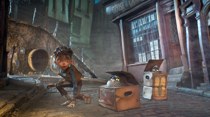 Photo SLIDE pour LES BOXTROLLS