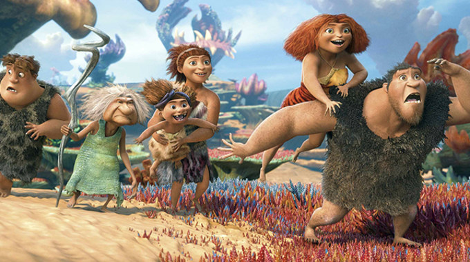 Photo SLIDE pour LES CROODS EN 3D