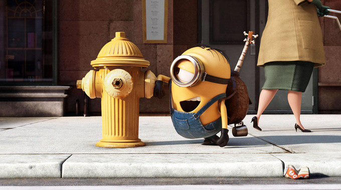 Photo SLIDE pour LES MINIONS EN 3D