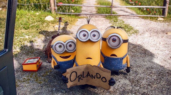 Photo SLIDE pour LES MINIONS