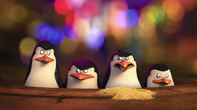 Photo SLIDE pour LES PINGOUINS DE MADAGASCAR EN 3D