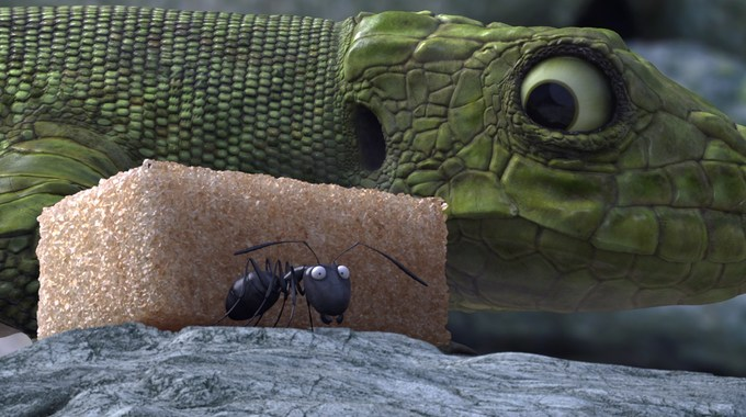 Photo SLIDE pour MINUSCULE, LA VALLEE DES FOURMIS PERDUES
