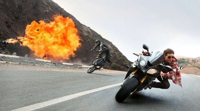Photo SLIDE pour MISSION : IMPOSSIBLE ROGUE NATION