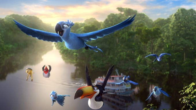 Photo SLIDE pour RIO 2 EN 3D