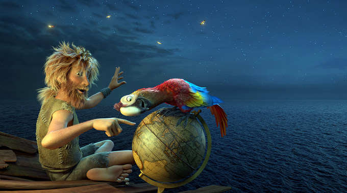 Photo du film Robinson Crusoe en 3D