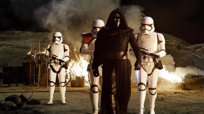 Photo du film STAR WARS LE REVEIL DE LA FORCE EN 3D
