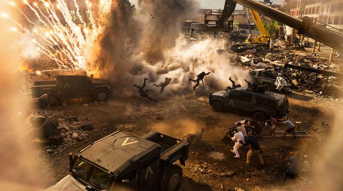 Photo du film Transformers: The Last Knight en 3D